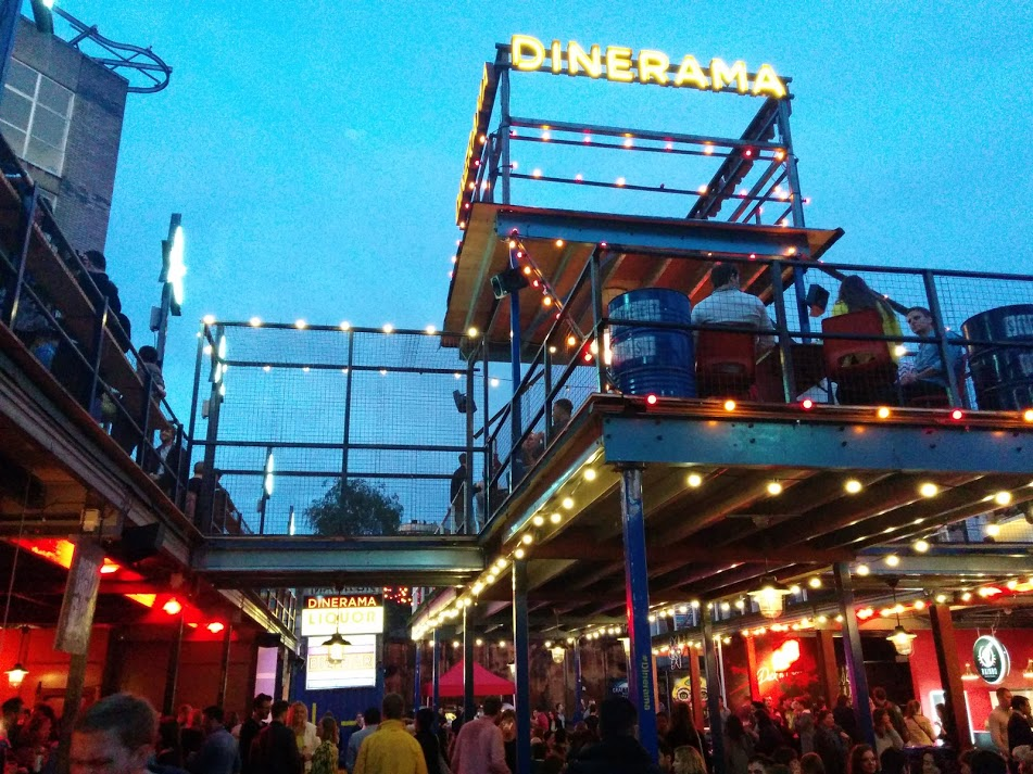 Dinerama Shoreditch Hastes Kitchen