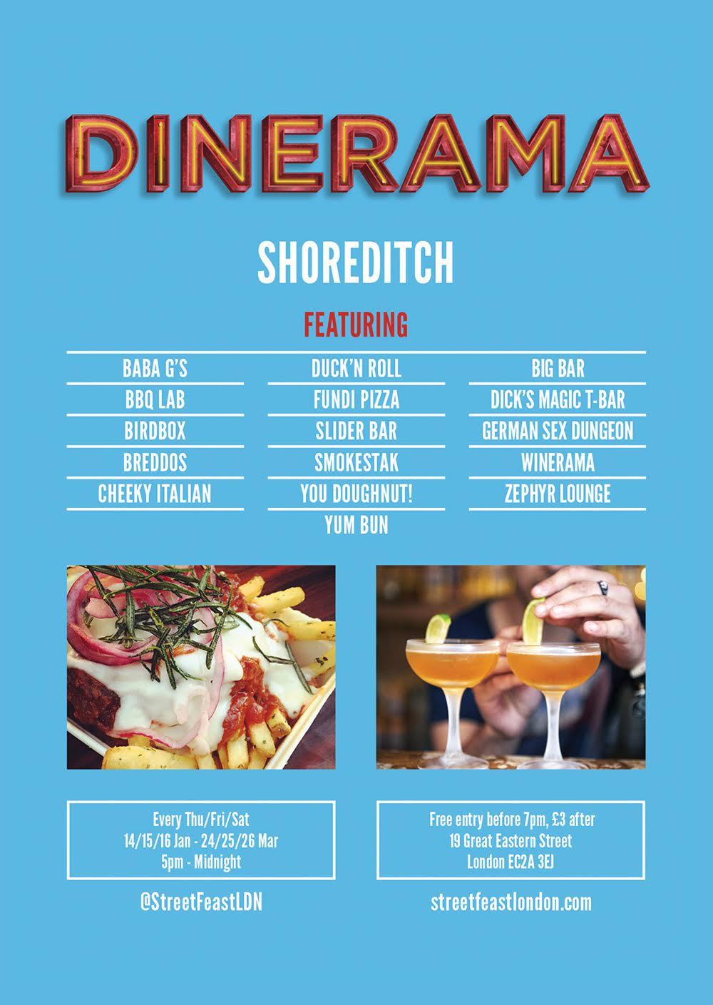 Dinerama Shoreditch: Hastes Kitchen